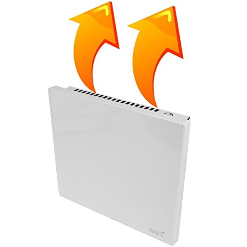 New Age Living Phantom 4 Wall Panel Heater - 400W - Radiant & Convection Heating - Modern Design - Silent with No Moving Parts - Economical - TUV Rated for Safe Home Use