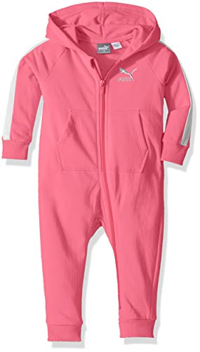 (PUMA Girls Baby Fleece Coverall, 18M)
