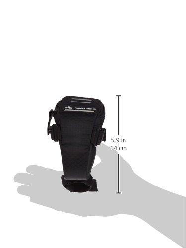 black VAUDE Unisex Satteltasche Race Light 11798 8 x 7 x 14 cm 0,3 liters