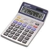 Sharp EL 337C - Calculadora financiera, plateado