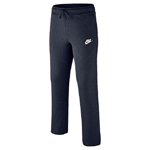 Nike Boys 8-20 Core Fleece Pant (Medium, Navy)