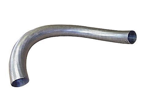 500mm Long 35mm Universal Exhaust Flexible Polylock Tube