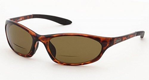 ONOS Ocracoke Polarized Sunglasses (+2.5 Add Power), Tort...
