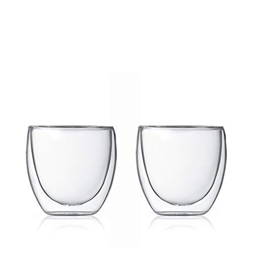 Bodum Pavina Double Wall Espresso/Shot Glass - Set of - Pot Joy Lemon