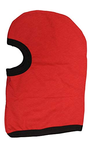 Tullahoma Industries Polypropylene Fleece Balaclava ECWCS Cold Weather Balaclava Red P44 (2 Pack)