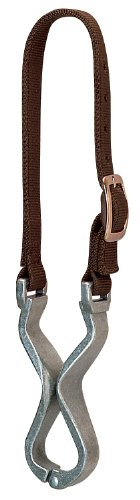 Weaver Leather Nylon and Aluminum Cribbing Strap, (Aluminum Collar)