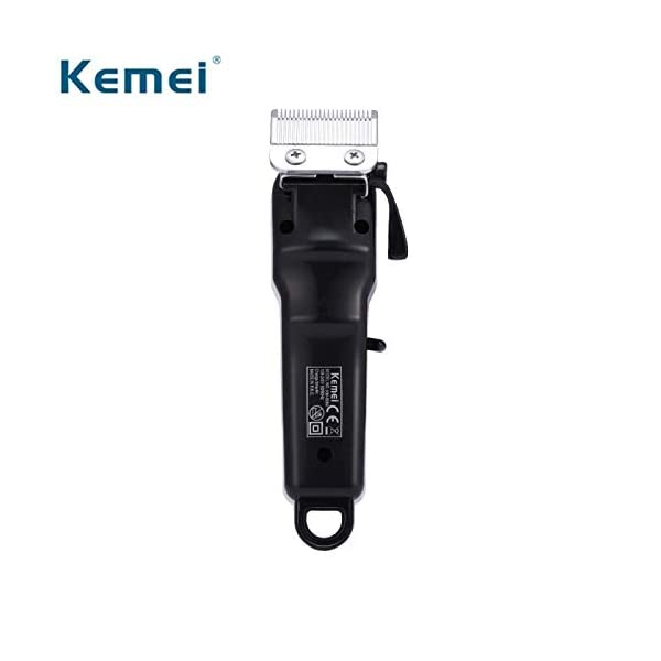 Kemei Km-809 A Rechargeable Cum Electric Hair Clipper Gromming Set For Men, Women (Mutlicolor) (Multi) 2021 August Heavy Duty; Trimming Range: 0.5 - 15 mm Maintenance Free. Power Requirement 220- 240 v. Battery Run Time : 120 min Cordless cum Corded Device