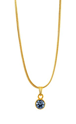 Handicraft Kottage Girl's Gold Plated Pendant (HK-SP-1074) by Handicraft Kottage