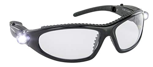 SAS Safety 5420-50 LED Inspectors Safety Glasses ()