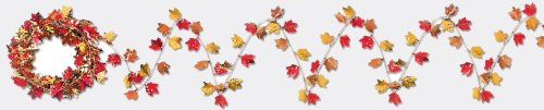 Gleam 'N Flex Autumn Leaf Garland Party Accessory (1 count) (1/Pkg) ()