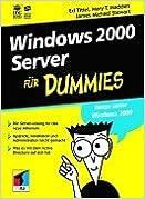 Windows 2000 Server für Dummies.