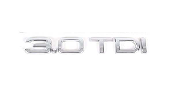 Audi 3.0 TDI Decal Emblem Genuine Audi A4 A5 A6 A7 4f0853743b 2ZZ