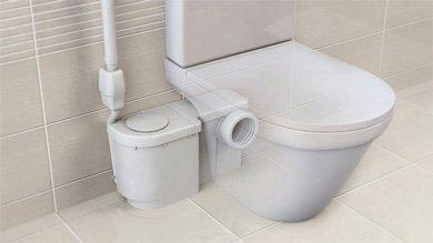 Jimten Ciclon Fit1 T-501 Triturador sanitario (hasta 5m-1 toma WC)