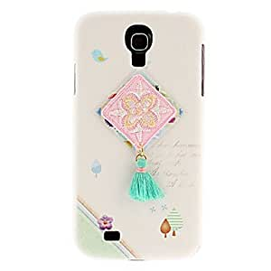 Embroidery Pattern Hard Case for Samsung Galaxy S4 I9500