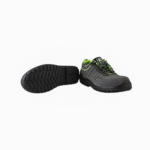 Cofra Sailor S1P SRC par de zapatos de seguridad talla 44color gris