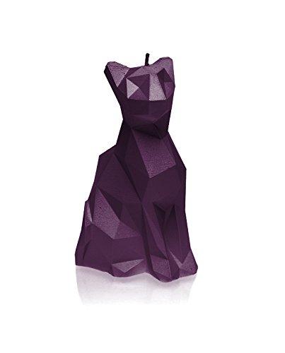 Candellana Candles 5902815460961 Cat Candellana- Cat Poly Candle-Violet, Violet, Large