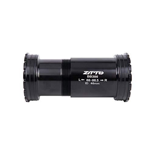(anyilon BB386 EVO PF30 30 Bicycle Press Fit Bottom Brackets Axle for MTB Road Bike Rotor 3D BB K Force 30mm Crankset chainset)