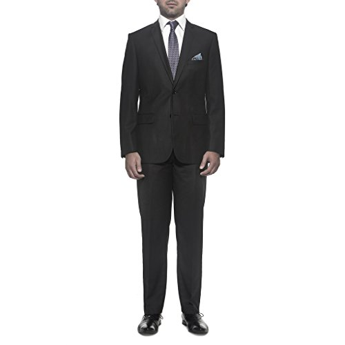 Nicole Miller NMAN Men's Solid Suit Separate Jacket - Slim Fit, Charcoal (Shoes Seersucker Suit)