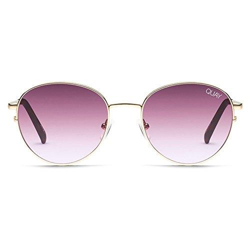 Quay Crazy Love Sunglasses | Round Frames | UV Protection by Quay