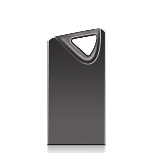 Zmsdt Super Mini USB Flash Drive Waterproof 4gb 8gb 16gb 32gb 64gb Pendrive USB 2.0 Real Memory Stick Flash Drive Pen Drive (Color : Black, Size : 64GB)