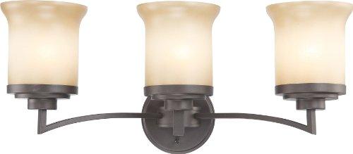 Nuvo Lighting 60/4123 Three Light Vanity - Harmony 3 Light Vanity