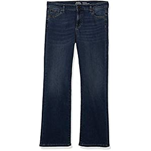 Amazon Essentials Girls' Little Boot-Cut Stretch Jeans