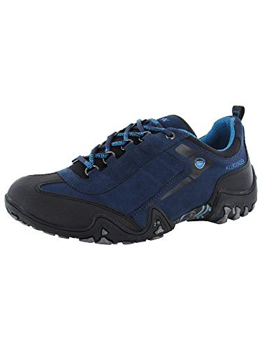 Allrounder by Mephisto Women's Fina Tex, Black Rubber/Blue Royal, 7.5 M US