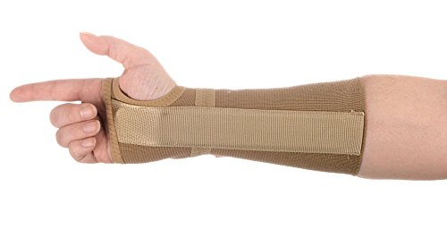 FREEDOM Long Elastic Wrist Support, Left, Extra Large by Freedom