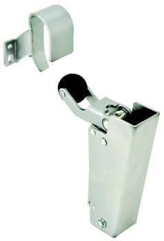 Door Dampener, Dictator CD160, 651 Chrome Plated, Polished (US26) by Hardware INC