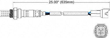 Walker Products 250-24335 4-Wire Oxygen Sensor