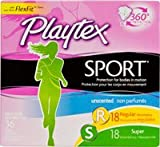 Health & Personal Care : Playtex Sport Tampons with Plastic Applicators Unscented Multi-Pack - 36 ct