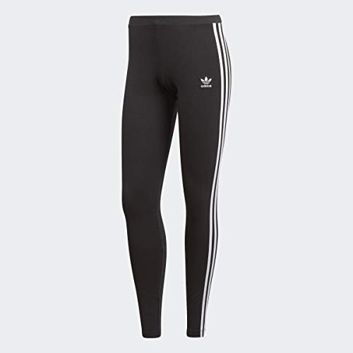 adidas Originals Women's 3-Stripes Leggings, Black, Medium