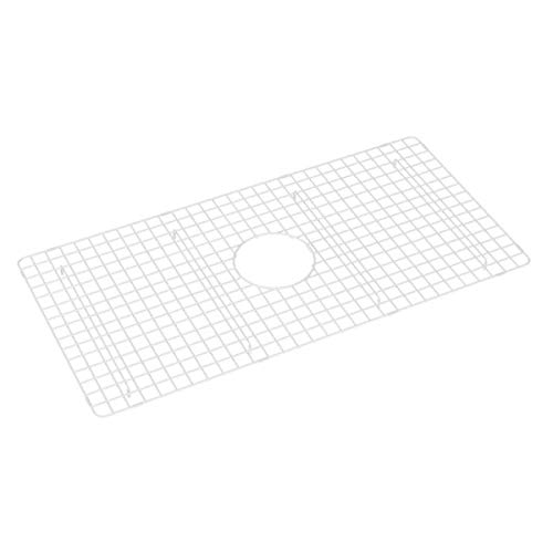 Rohl WSG3318WH Stainless Steel Kitchen Sink Grid White