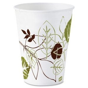 DXE58WS - Pathways Wax Treated Paper Cold Cups