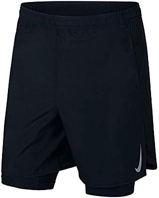 f20a3d28931 Nike Men's CHLLGR Short 7IN 2IN1, Black(Black/Black/Reflective ...