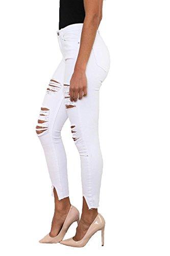Vaqueros MODA blanco Jeans Skinny de Mujer TREE DCE LEMON z8nw5Hqp0x