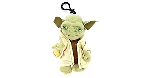 Star Wars - YODA Plush Toy Bag Clip Key Chains Coin Bag Clip On 8
