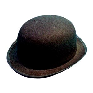 Bowler Hat Black Felt - Best  Amazon.co.uk  Toys   Games 7b0e2da372f