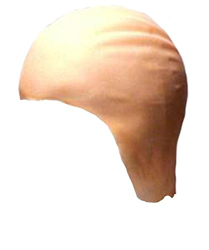 Theatrical Quality Thin Latex Bald Cap Makeup Accessory BEIGE ()
