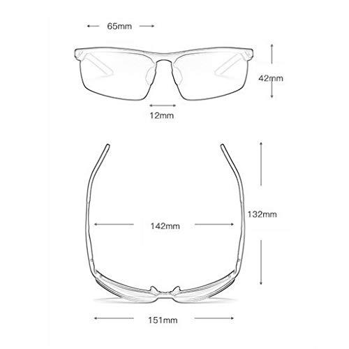 Square en Lunettes D Hipster Nouvelles Aluminium Haute soleil Sport de de lunettes Des Soleil Femme polarisées définition magnésium xCS4q1CRnw