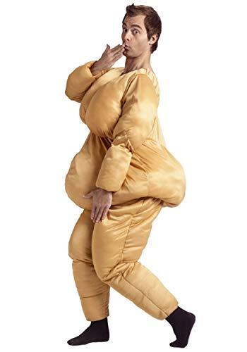Fun World Men's Fat Suit Adlt Cstm, Multi, Standard