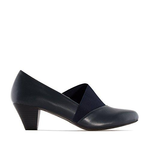 Andres Machado.AM5215.Salon en soft con elastico. Tallas Grandes 42/45. Para Mujer. Azul