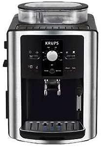 Krups Expresseria Automatic - Cafetera, 1450 W, capacidad de deposito de agua 1.8L, 15 bares, 3 niveles de temperatura: Amazon.es: Hogar