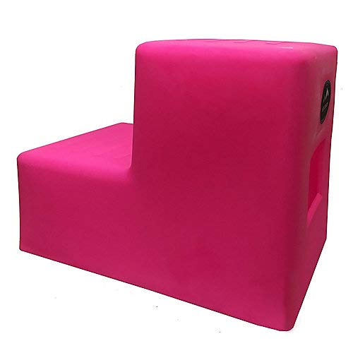 High Country Plastics Mounting Step, 19'', Two Step -Pink, Medium by High Country Plastics