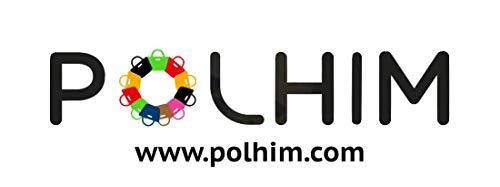 POLHIM Borsa shopper in cotone di qualità 10 pezzi 145 g/m2 dimensioni 38x42 cm manici lunghi 70 cm Nero 100% cotone. Il… 5 spesavip