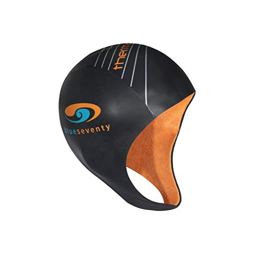 blueseventy Thermal Neoprene Skull Cap - for Triathlon Training and Cold Open Water Swimming (Large) ()