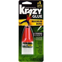 (Bulk Buy: Elmer's Glue (3-Pack) Krazy Glue Maximum Bond .18 Ounce KG48348)