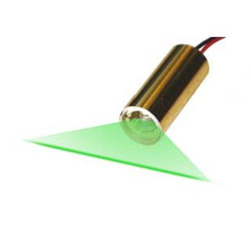 Quarton Laser Module VLM-520-27 LPA Direct Green Laser Line Generator (Industrial Use Line - Laser Module Green
