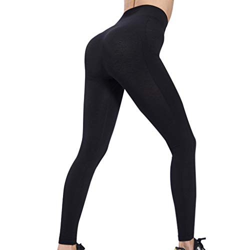 (DDKK yoga pants Seamless Solid High Waist Tummy Control Workout Women Yoga Leggings Perfect for Most)