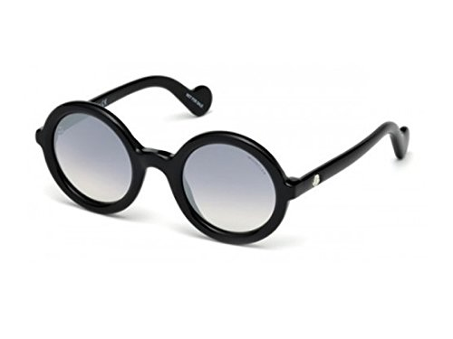 Sunglasses Moncler MRS MONCLER ML 5 MRS MONCLER ML 0005 MRS MONCLER 01B shiny black / gradient - Moncler Shiny